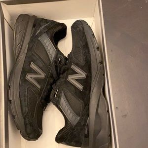 Black on black New Balance Sneakers size 7.5